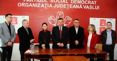 psd-vaslui-primar-Vasile Paval-Doina Silistru-Dumitru Buzatu