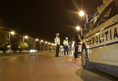 Beat turtă și fără permis, un tânăr din Văleni a fost prins de polițiști în centrul Vasluiului