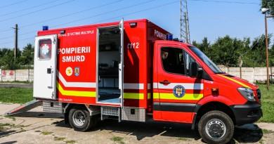 autospeciala transport victime multiple