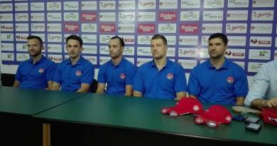 Claudiu Dediu, Vlad Vlăduţ, Mihai Buşecan, Andrei Popescu  Răducu Tamaş,