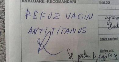 refuz spital