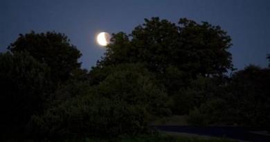 eclipsa partiala de luna