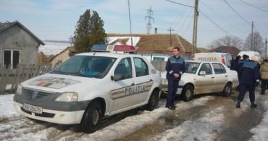 politie rurala iarna
