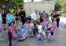 """Voluntarii Asociației """"Solidar"""", alături de preşcolarii din Ghermăneşti"""