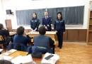 Prevenirea delincvenţei juvenile, predată elevilor de către polițiști