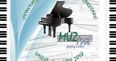 Afis Concurs MUZART 2018 FINAL
