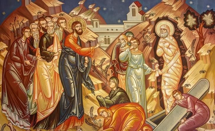 invierea-lui-lazar - icoana