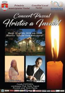 afis Concert pascal 2018