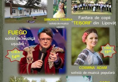 Concert Fuego astăzi, la Ziua Satului, la Lipovăț