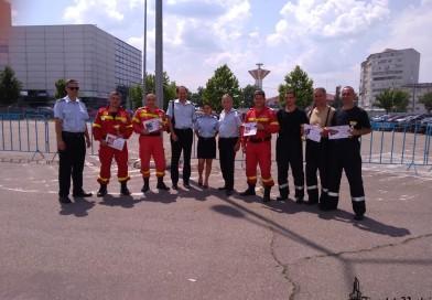 Pompierii, în concurs