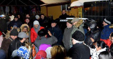 """În comuna Gârceni, localnicii au sărbătorit venirea Anului Nou, """"pe vechi"""", alături de oficialitățile județului"""