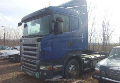 Camion furat din Polonia, descoperit la Drânceni