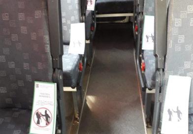 Călătorii din autobuze, informați de ce nu este bine să-ți bați nevasta