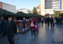 S-a deschis Târgul de Crăciun din centrul Vasluiului (foto)