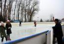 Astăzi s-a deschis patinoarul din Copou