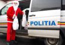 Pentru copiii de la CSEI Negreşti, Moş Crăciun e poliţist