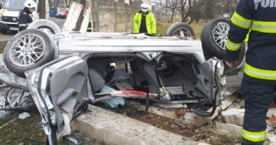 EXCLUSIVITATE! Accidentul din Bârlad, filmat live!