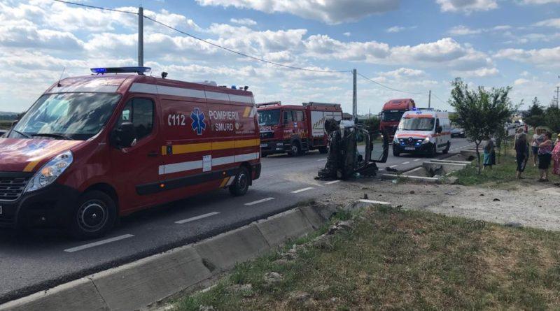 Acum: Accident cu două victime la Muntenii de Jos