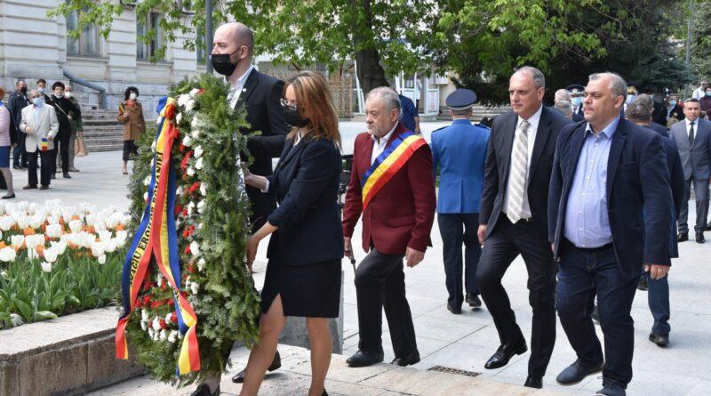 Autoritățile locale au marcat ziua de 9 mai prin activități festive