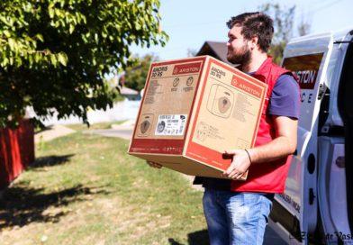 Crucea Roșie Română și Ariston Thermo România dotează  nouă școli din Vaslui cu boilere performante