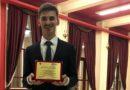 Vasluianul Costin Chirica, premiat la Gala Studentului Ieşean