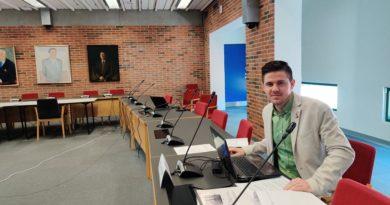 Un tânăr din Vaslui, membru al Consiliului Regional al Danemarcei de Nord