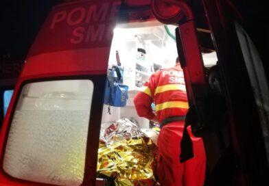 Accident spectaculos la Perieni: pasager aruncat prin parbriz, deși era pasager pe scaunul din spate
