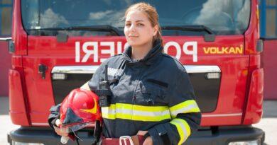INTERVIU Ionela Făndărac, femeia-pompier